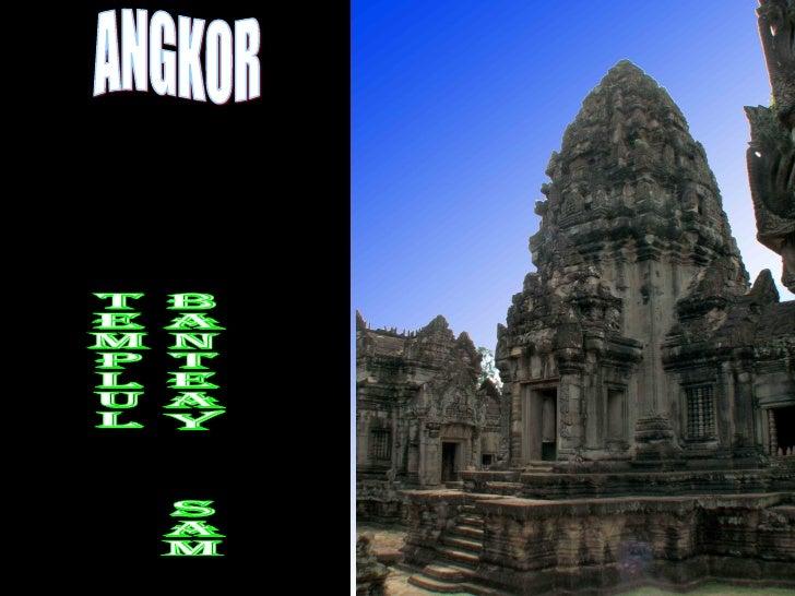 ANGKOR Templul  Banteay  Samre