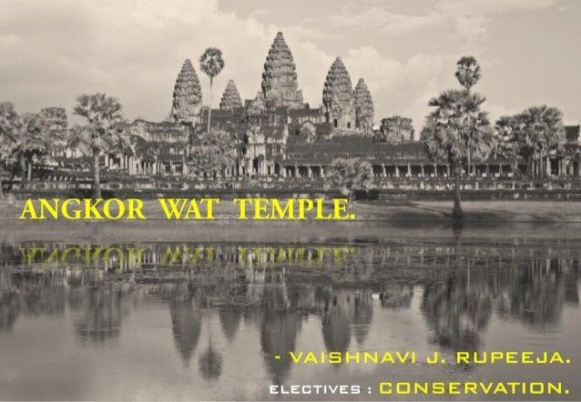 angkorwat temple conservation preservation and restoration