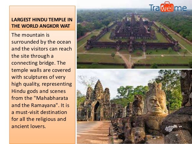 Largest Hindu Temple in the World Angkor Wat Cambodia