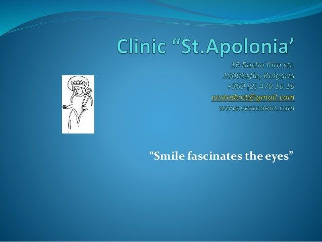 """""""Smile fascinates the eyes"""""""