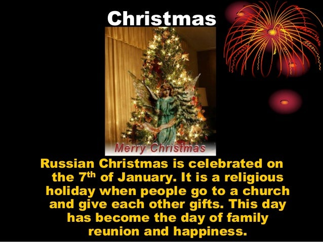 When Is Russian Christmas.New Year S Day And Christmas In Russia