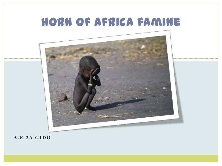 Horn of Africa famineA.E 2A GIDO