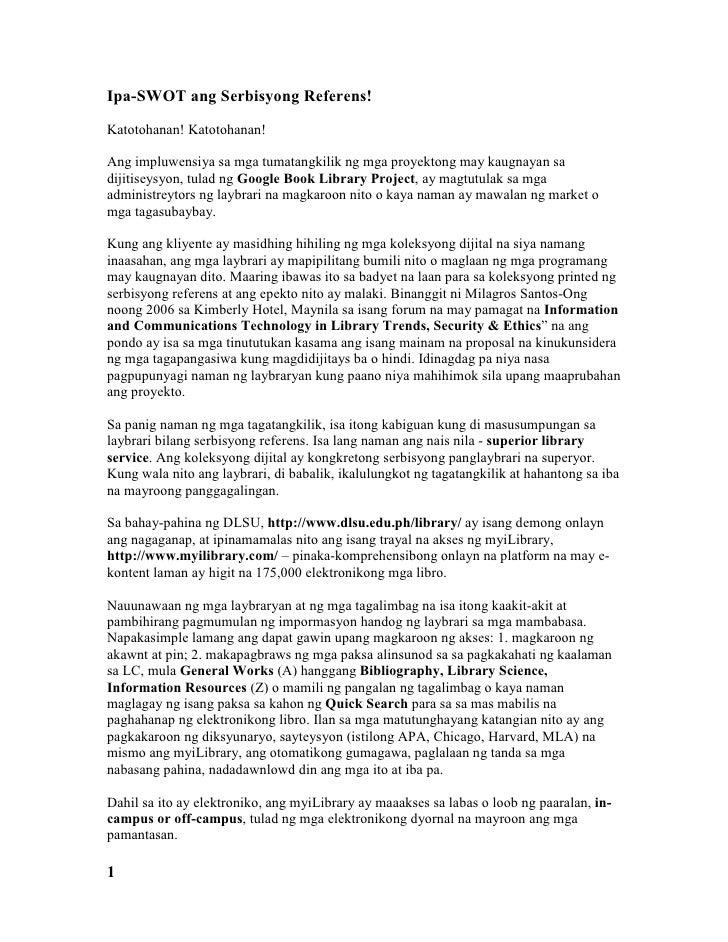 halimbawa ng isang proposal Halimbawa ng isang tagalog tisis halimbawa ng isang tagalog tisis ayon sa kasaysayan, ang neust, kursong narsing at maging sa larangan ng ibang kurso ay bihasa sa pagsasalita ng tagalog, pamagat ng thesis sa filipino free essays – essays – largest database of quality sample essays and research papers on pamagat ng thesis sa filipino thesis .