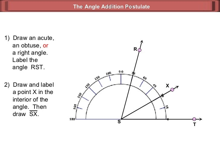 the angle addition postulate r t s 3 - Angle Addition Postulate Worksheet