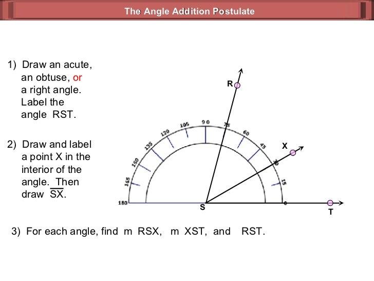 Angle Addition Postulate Worksheet Answer Key - angle ...
