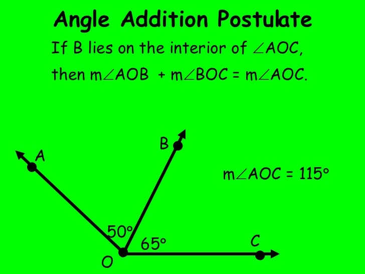 angle addition postulate - Angle Addition Postulate Worksheet