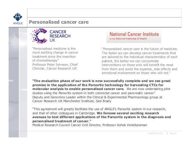 Parsortix non-invasive cancer diagnostics   3 September 2014
