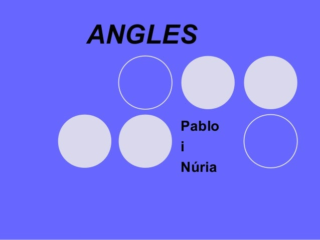 ANGLES Pablo i Núria