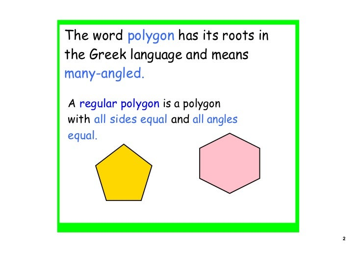 Regular Polygons In Nature Angles 2 (in po...