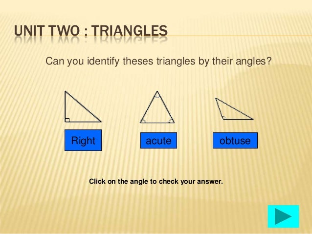 Right Angle Shapes : Angles and shapes