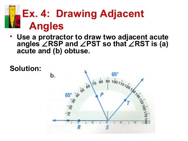 angles and their measures pdf