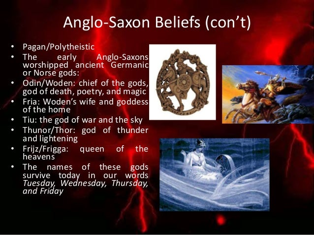 Types of Anglo-Saxon Verse Scops often recited: • Heroic Poetry: recounts the achievements of warriors involved in great b...