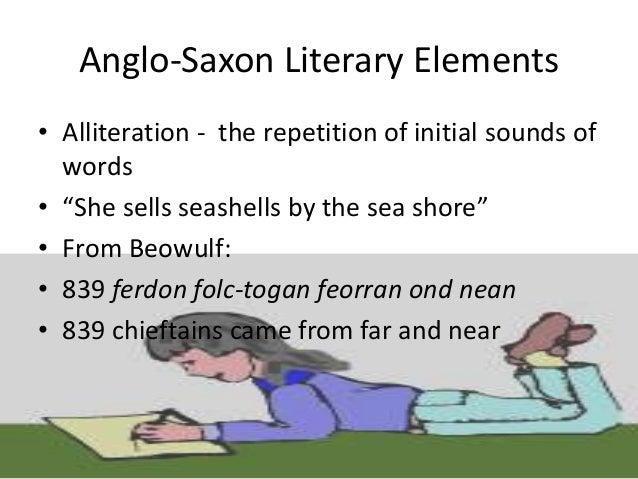 A. Poetry • Much of Old English poetry was probably intended to be chanted, with harp accompaniment, by the Anglo-Saxon sc...
