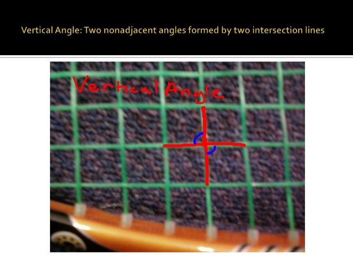 Angles In Life ProjectA Pair Of Adjacent Angles In Sports
