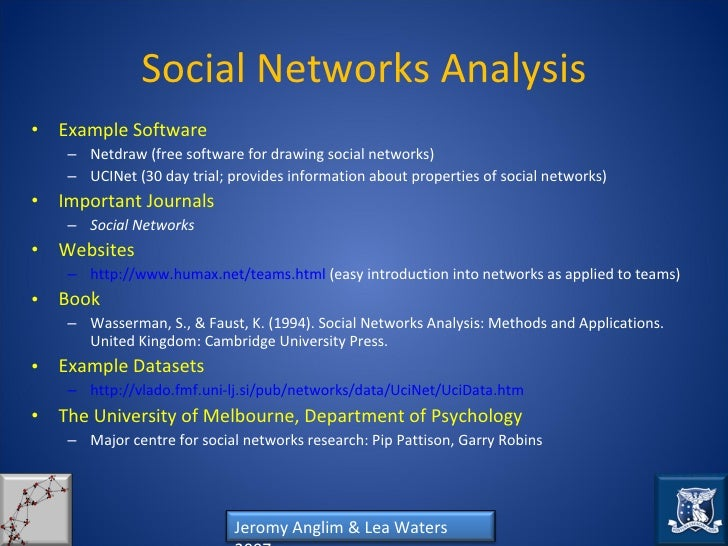 How to conduct a social network analysis: A tool for empowering teams…