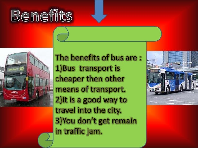 advantahes and disadvantages of public transport Free essays on advantages and disadvantages of public transport get help with your writing 1 through 30.