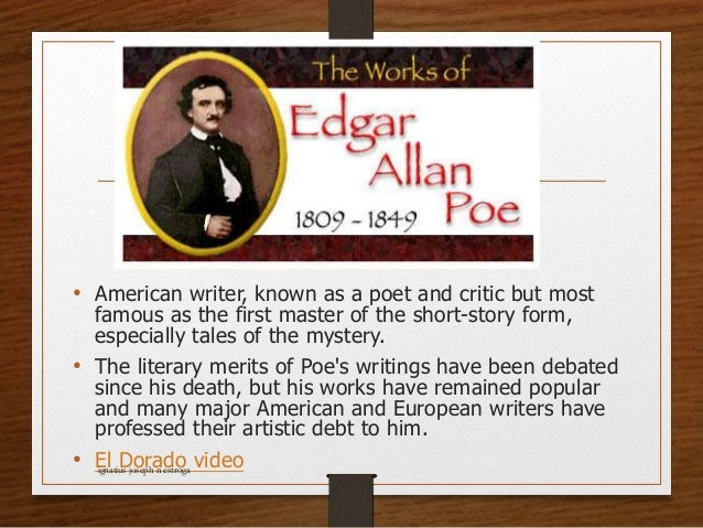 a comparison of nathaniel hawthorne and edgar allan poe in famous american authors Check out this video to learn more about gothic romanticism.