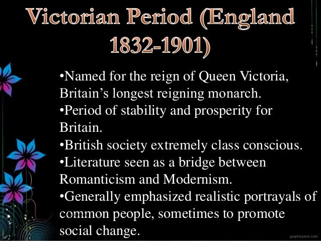 •Named for the reign of Queen Victoria, Britain's longest reigning monarch. •Period of stability and prosperity for Britai...