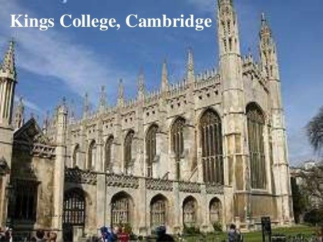 Kings College, Cambridge ignatius joseph n estroga