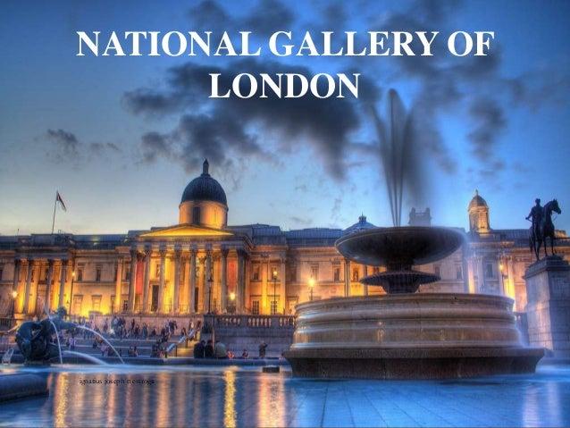 NATIONAL GALLERY OF LONDON ignatius joseph n estroga