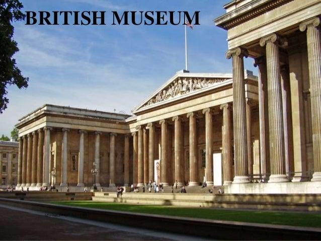 BRITISH MUSEUM ignatius joseph n estroga