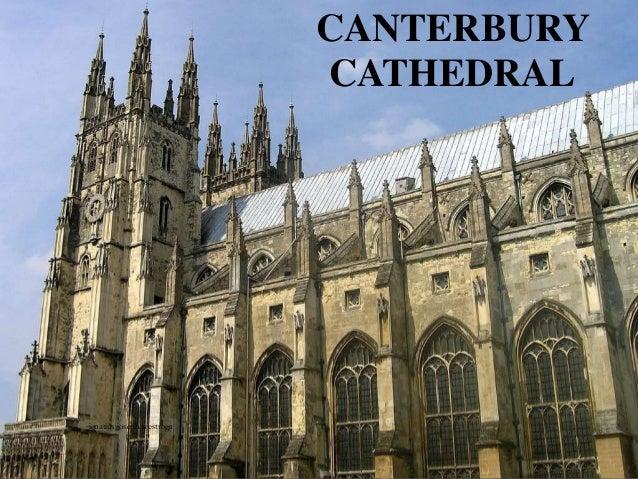 CANTERBURY CATHEDRAL ignatius joseph n estroga