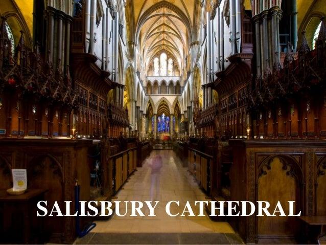 SALISBURY CATHEDRALignatius joseph n estroga