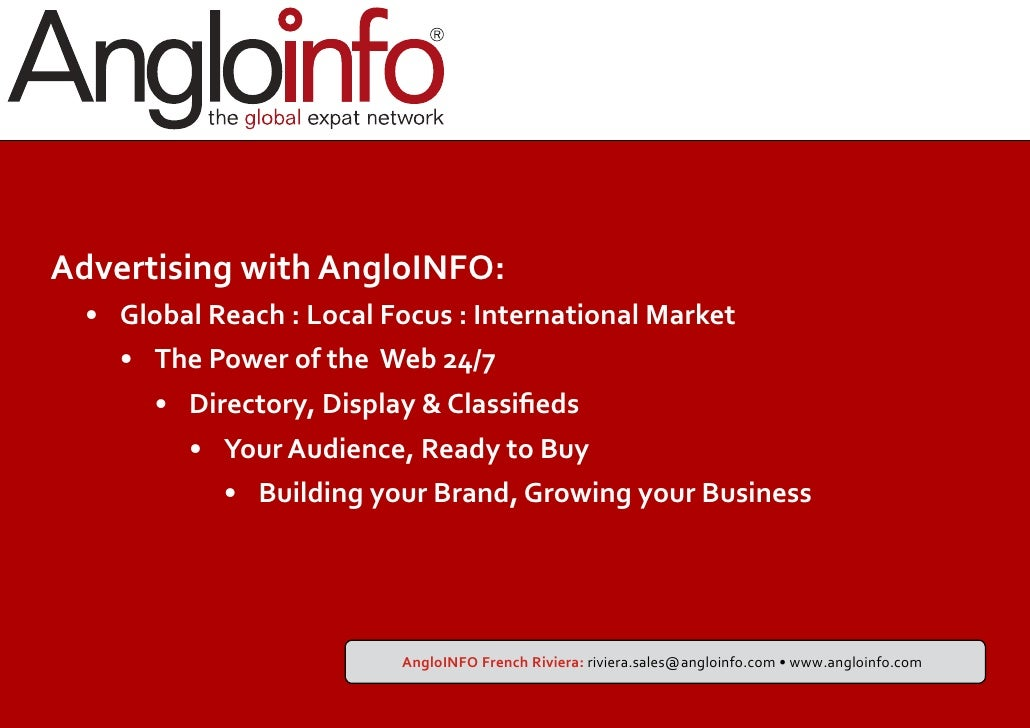 Angloinfo dating