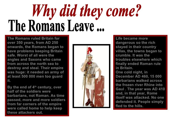 Why essay invaded the did romans writing britain