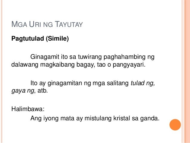 example of personification or pagsasatao Halimbawa ng pagsasatao o personipikasyon 5 halimbawa ng pagsasatao o personipikasyon halimbawa ng pagsasatao o personification  modal example.