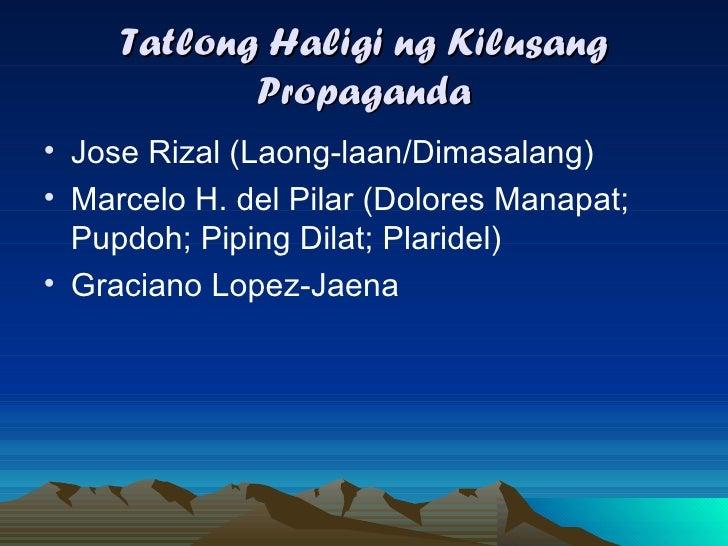 tula noong panahon ng propaganda Ang mga panitikan sa panahon ng himagsikan/pagbabagong-isip/panahon ng paghihimagsik.