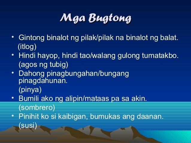 parang sabir O bidasari, parang sabir - moro o biag ni lam ang - iloko o maragtas, haraya, lagda at hari sa bukid - bisaya o kumintang - tagalog o dagoy at sudsud - tagbanua.