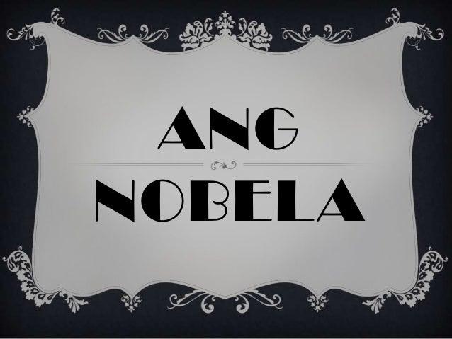 ANG NOBELA