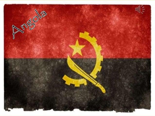 Angola Antes e agora Bandeira
