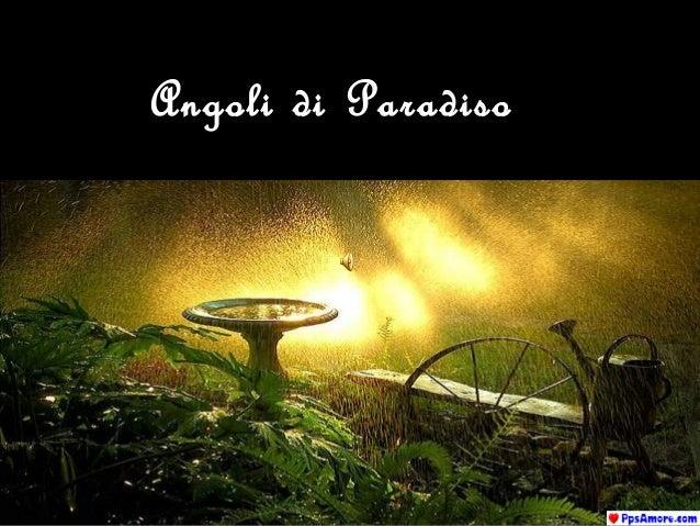 Angoli di Paradiso