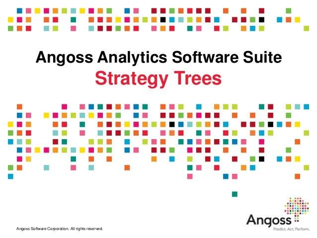 Angoss Analytics Software Suite                                            Strategy TreesAngoss Software Corporation. All ...