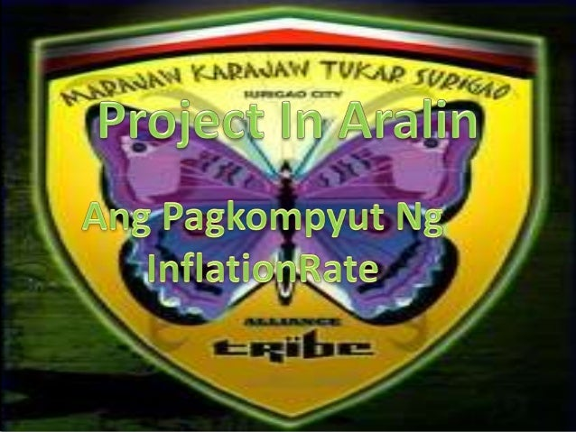 Ang Pagkompyut ng Inflation RateConsumer Prize Index for All Income HouseholdsTaon      Pagkain,Inu   Kasuotan   Pabahay  ...