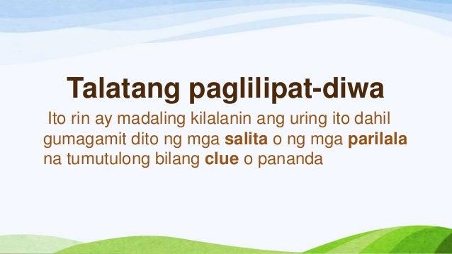 talata tungkol sa pagsasalaysay Sumulat ng talata tungkol sa karunungang bayan salamin ng pagka pilipino - 122429.