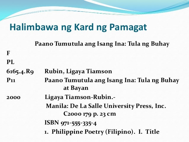 mga tagalog na thesis Ito ay mararamdaman lalung-lalo na ng mga estudyante sapagkat ito'y isang turo upang matuto sa wastong  the thesis announcement is a announce about your subject.
