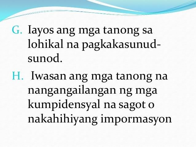 halimbawa ng thesis sa filipino tungkol sa wika