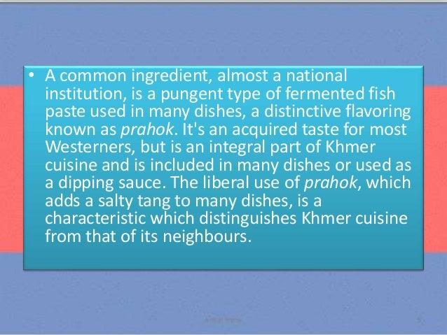 Panitikan ng umuunlad na bansa kaligiran ng cambodia for A taste of cambodian cuisine