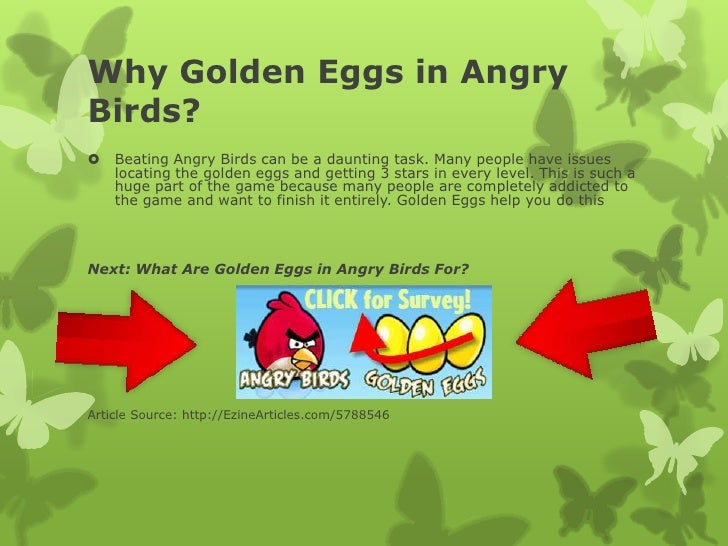 angry birds golden eggs levels