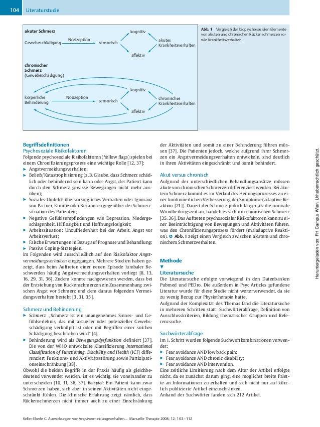 Begriffsdefinitionen Psychosoziale Risikofaktoren Folgende psychosoziale Risikofaktoren (Yellow flags) spielen bei einem C...