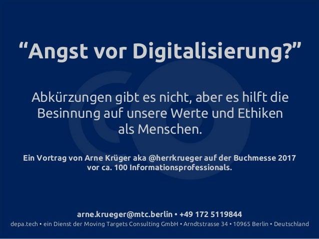 arne.krueger@mtc.berlin • +49 172 5119844 depa.tech • ein Dienst der Moving Targets Consulting GmbH • Arndtstrasse 34 • 10...
