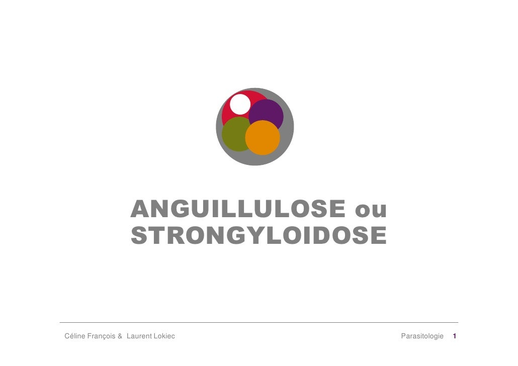 ANGUILLULOSE ou                    STRONGYLOIDOSE   Céline François & Laurent Lokiec     Parasitologie   1