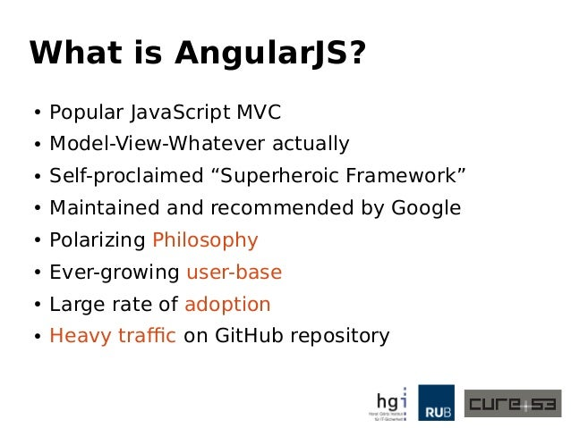An Abusive Relationship with AngularJS