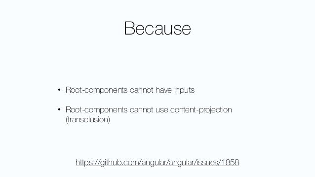 • even though it works - it feels terrible and wrong! • and we need the parser at runtime • so no AOT and bad perf