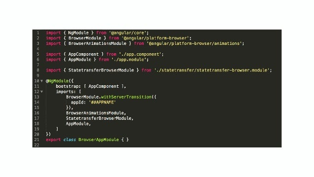 Building a dynamic SPA website with Angular