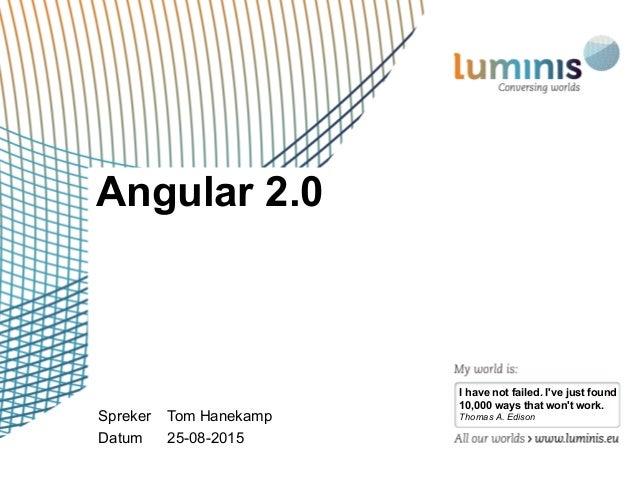 Angular 2 0 for Angular 1 architecture