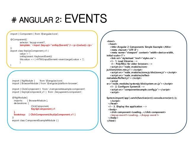 Angular 2 rc5 조사